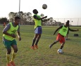 SEMI-SWEET: Wits men's soccer team are hard at work at soccer practice in preparation for their semi-final match against USSA log leaders, Tuks on Tuesday September 23, 2014.  Photo: Lameez Omarjee